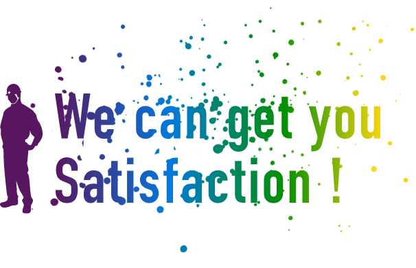 We can get you Satisfaction!
